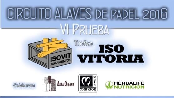 6� Prueba CAP - Trofeo ISO VITORIA