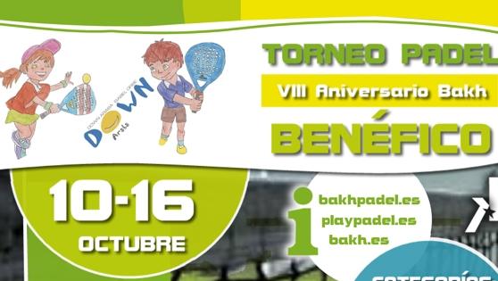 Torneo Ben�fico DOWN Araba /Isabel Orbe - VIII Aniversari Bakh