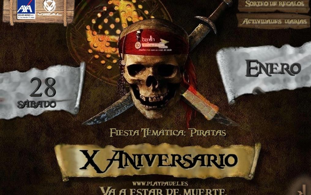 X Aniversario Bakh-Playpadel