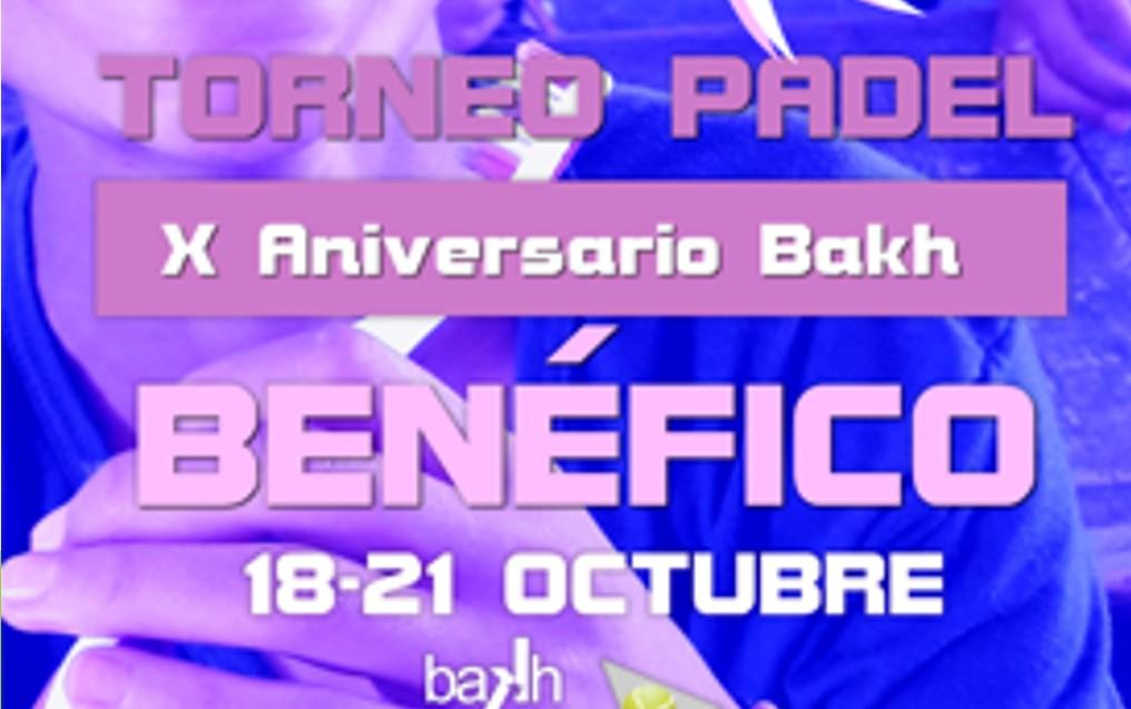 Torneo Benéfico X Aniversario Bakh